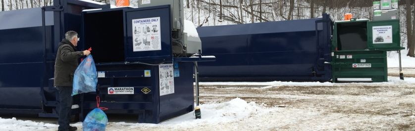 Photo of Recycling Compactor Bins
