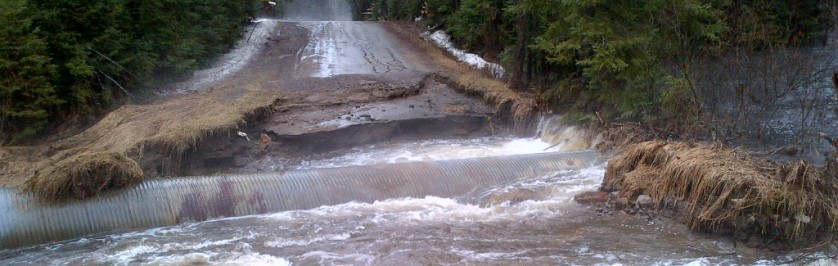 Photo of Road Washout